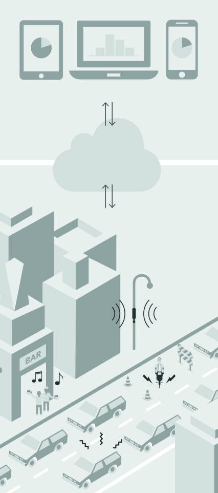 Así monitoriza el ruido Urbiótica