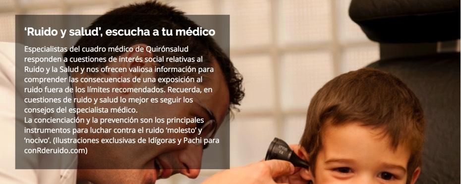 Ruido y Salud - Quirónsalud