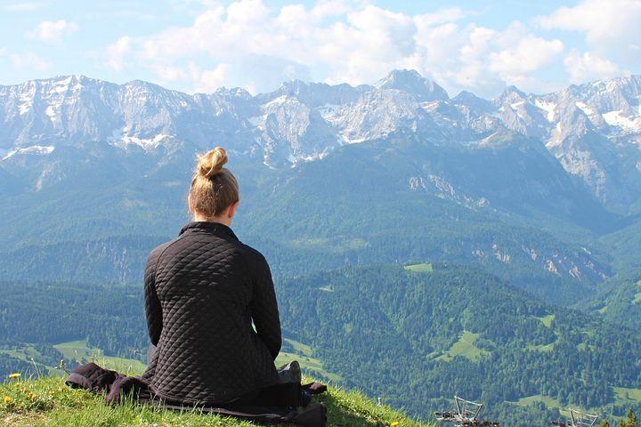 En la montaña puedes encontrar lugares sin ruido