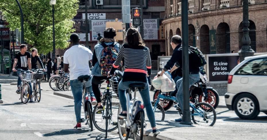 Valencia, movilidad sostenible, bicicleta, conRderuido, ruido