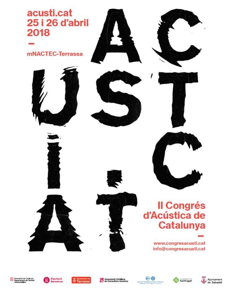 Acusticat 2018, conRderuido.com, ruido, contaminación acústica